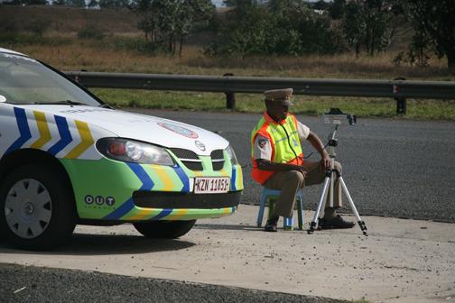 A radar traffic cop.