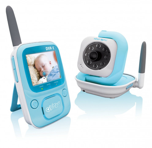Infant Optics DXR-5 2.4 GHz Digital Video Baby Monitor with Night Vision