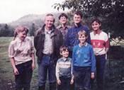 The Robinson family. Website photo.