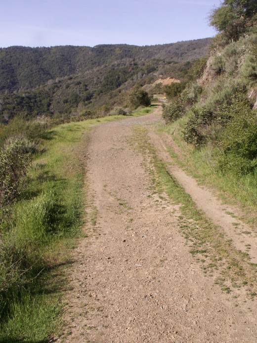 Trail to Mount Umunhum Overlook