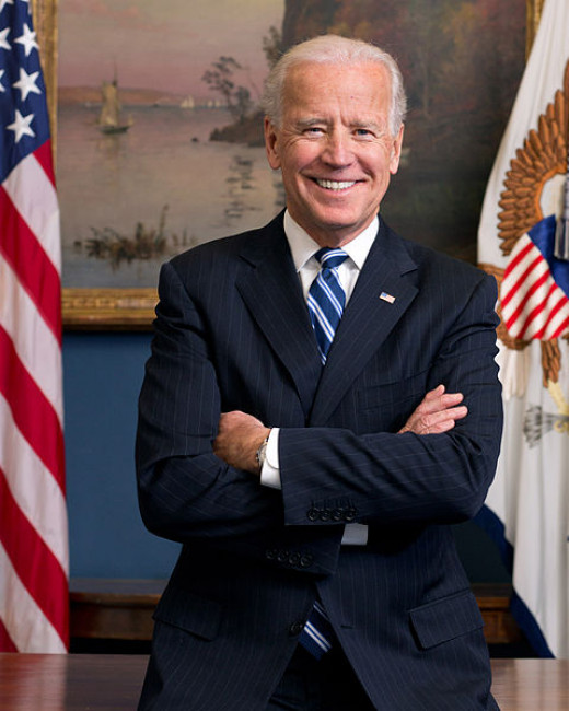 The current vice president, Joe Biden.