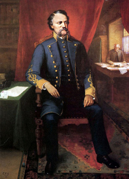 John C. Breckenridge was the youngest vice president in history, serving under James Buchanan from 1857-1861. He later joined the Confederacy.