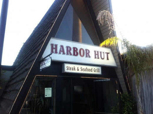 The Harbor Hut offers great fish and meat dinners.