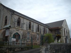 Brown's Town Baptist Church in Jamaica