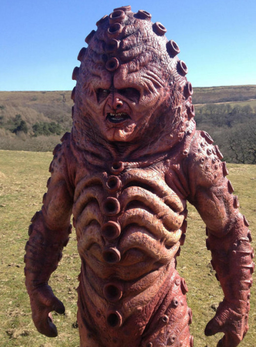 The updated Zygon design for the 50th anniversary special.