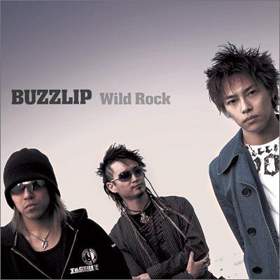 Wild Rock Single by Buzzlip CD cover. The cover features the members of the Buzzlip band