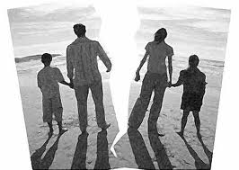 Children get hurt in divorce