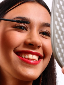Girl Applying Mascara by Stuart Miles - courtesy of freedigitalphotos