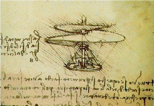Leonarod Da Vinci flight design