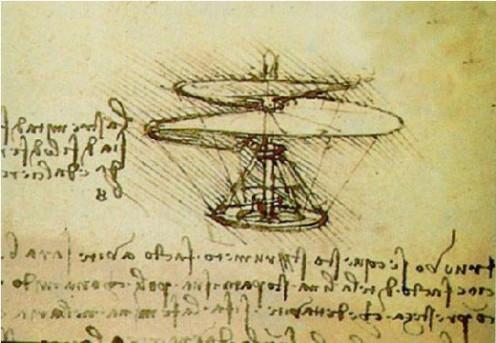 Leonarod Da Vinci flight design