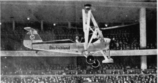 Focke-Wulf 61 The first true Helicopter