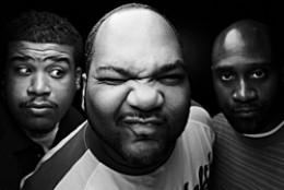 Famous Alternative Hip Hop group from the early days, De La Soul.