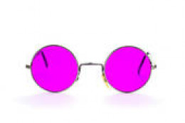 Grab your free pair of rose-colored glasses.