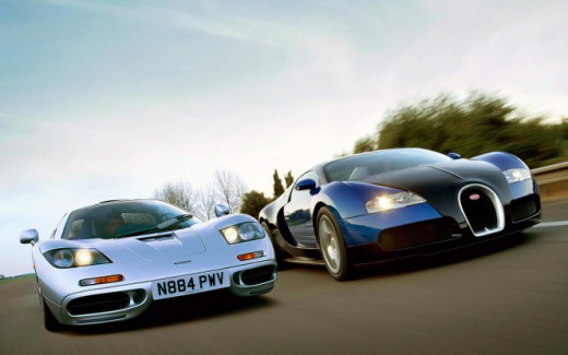 Bugatti VS Ferrari