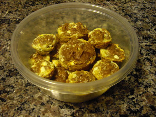 "Hubber cclitgirl's ""Easy Pumpkin Cream Cheese Muffins"", as seen on ""Tried and Tested Recipes From HubPages"""