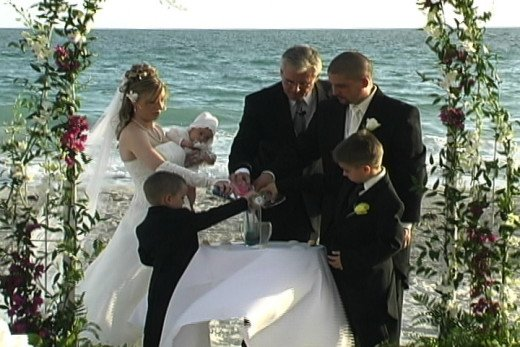 Children Participating Wedding Ceremony