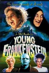 Movie poster for Young Frankenstein.