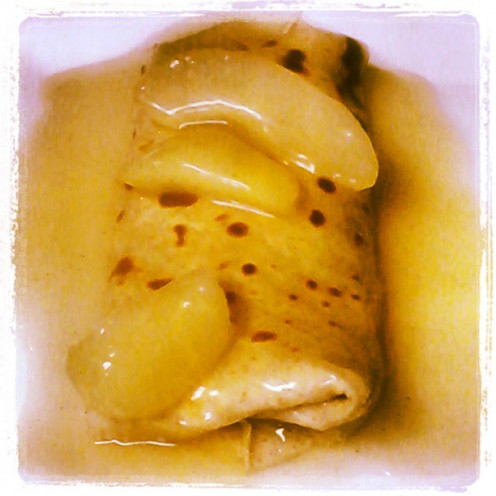 Pear Ginger Crepes