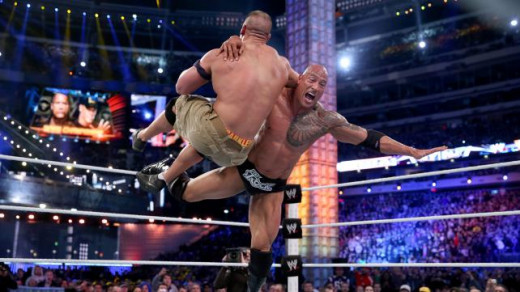 Despite the predictable outcome, The Rock and John Cena delivered another great Wrestlemania match.