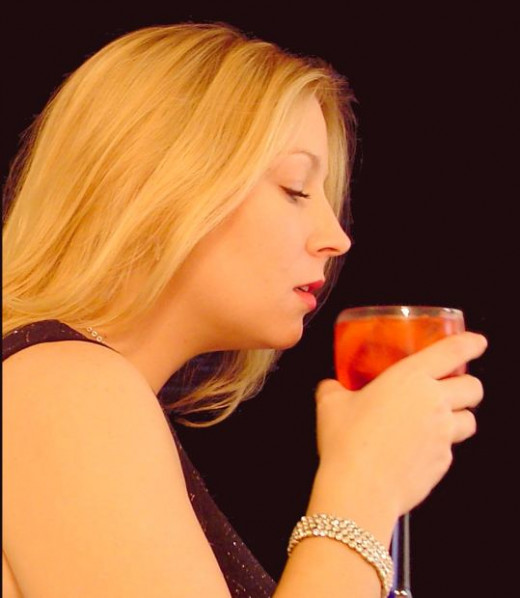 With a little self-control, most people can learn to moderate their drinking.  If you will be out for the evening, alternating between alcoholic and non-alcoholic drinks, and adding food, will keep you from over-indulging.
