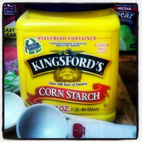 Make sure to stir Sugar, Salt and Cornstarch well.