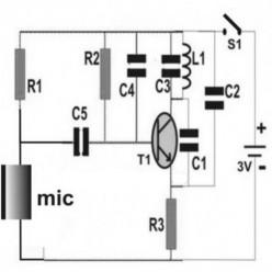 Making a Homemade Spy Bug Circuit