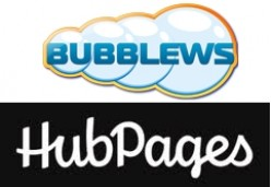 Bubblews versus Hubpages