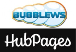 Bubblews v Hubpages.