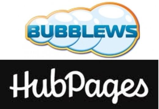 Bubblews v Hubpages.