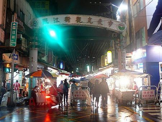 Linjiang Street Night Market