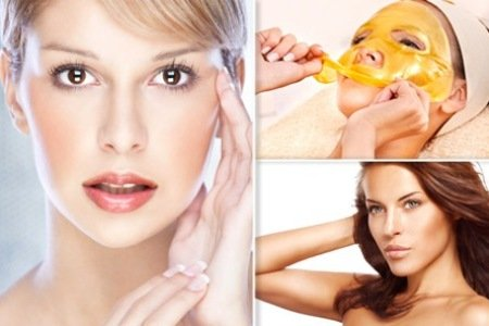 Gold Collagen face Treatments