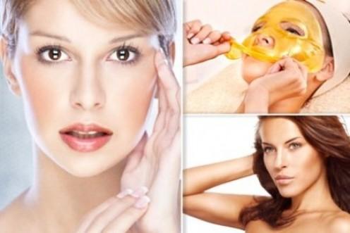 Gold Collagen face Treatments