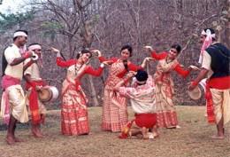 Bihu Dance is Famous in Assam