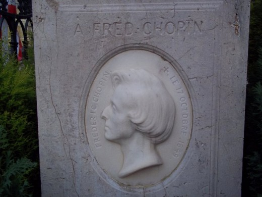 Alfred Chopin's tomb