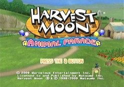 Harvest Moon: Animal Parade!