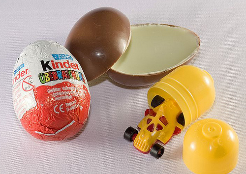 Deconstructed Kinder egg by CBP Photography on Flickr