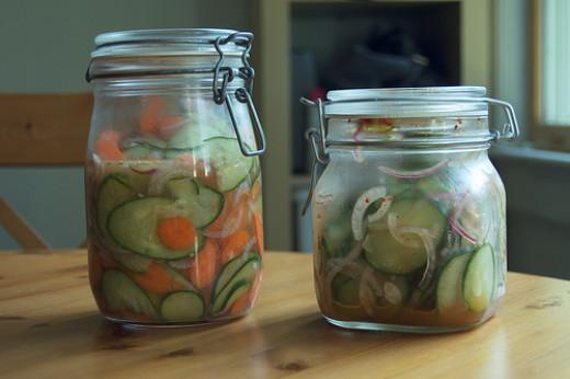Homemade pickles from sleepyneko on Flickr
