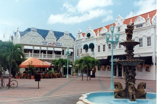 The Dutch Inspired Capital of Oranjestad