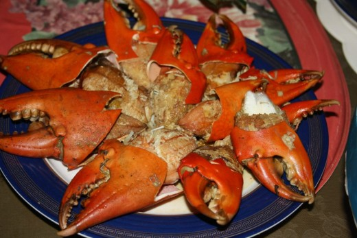 Crab - Filipino Food
