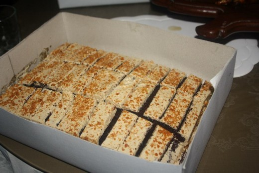 Filipino Food - Chococreme cake