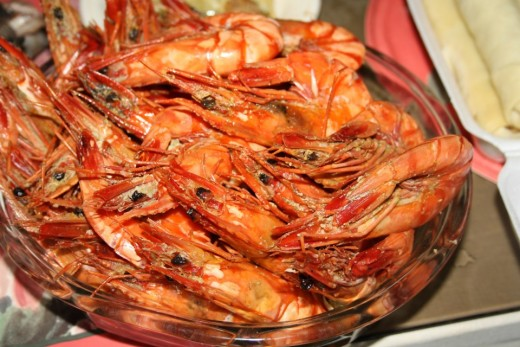 Shrimps - Filipino Food