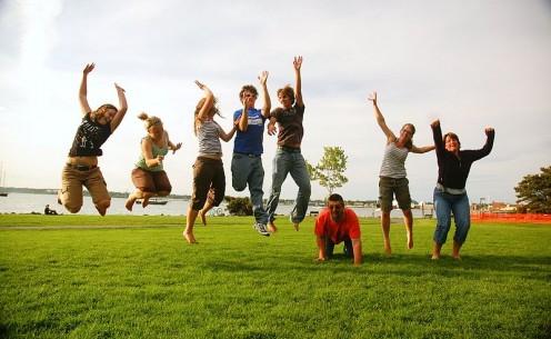 Family jump!!!