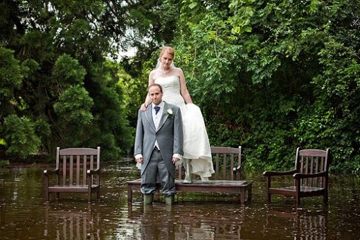 Inclement Weather on Wedding Day