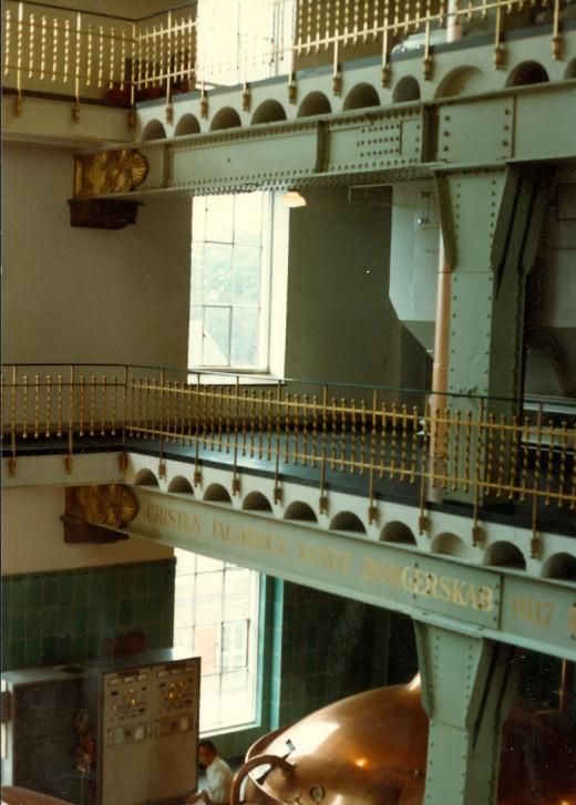 Inside Carlsberg Brewery
