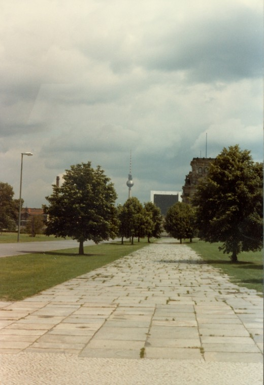 Fernsehturm Tower West Berlin