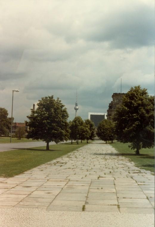 Fernsehturm Tower West Berlin