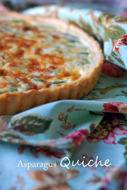 The best ever asparagus quiche for The best quiche ever