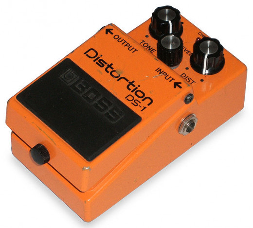 The Boss DS-1 Distortion pedal is among the world's most famous dirtboxes. Renowned for its thrashing, edgy tones, this pedal can be found in the rigs of amateurs and professionals alike.