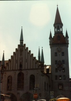 My Adventures Touring Europe in 1982 (7) Munich