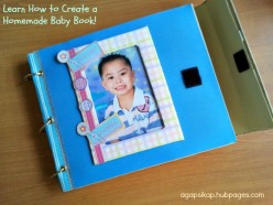 How to Create a Unique Baby Book Pages